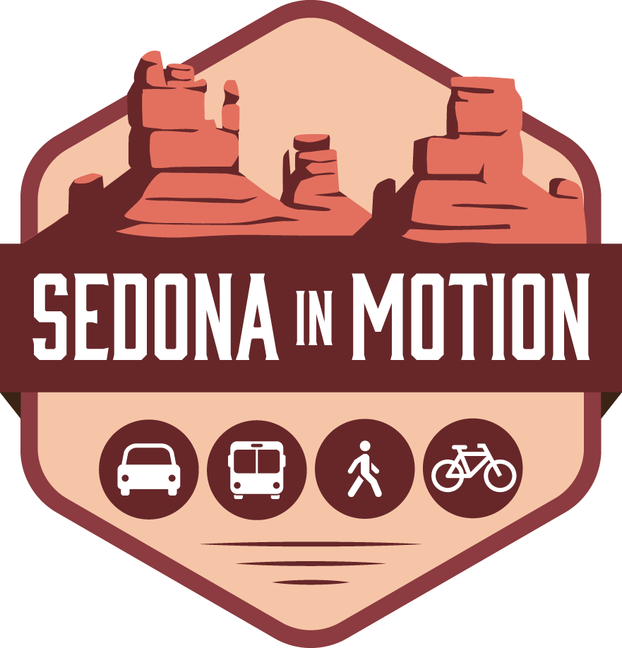 Sedona in Motion logo