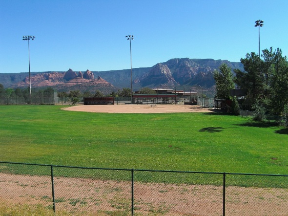 softball field large