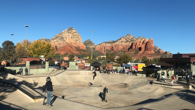 Red Rock view and scooters (640x361)
